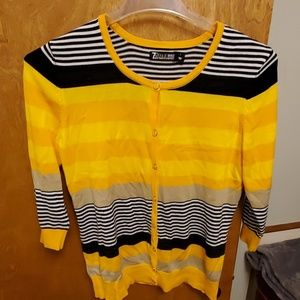 New York and Company striped cardigan!